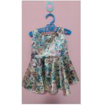 Vestido de festa - 0 a 3 meses - Costureira