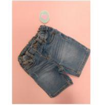 BERMUDINHA JEANS BABY - 6 a 9 meses - Marisol