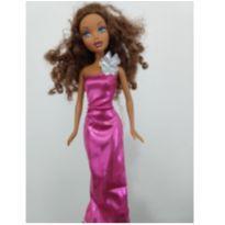 Vestido para boneca Barbie -  - Barbie