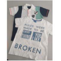 Dupla de Camisetas - 3 anos - DDK