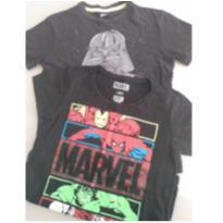 Duplinha de camisetas para brincar - 4 anos - Star Wars