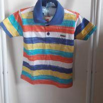 Camisa Pólo Colorida - 2 anos - Marisol