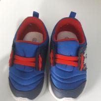 Tênis Azul com Vermelho - 21 - Novopé