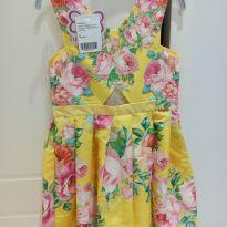 vestido luluzinha floral lindo (veste 6/7 anos) super verãoestiloso - 8 anos - Luluzinha