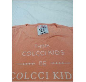blusa colcci  laranjinha claro - 6 anos - Colcci kids