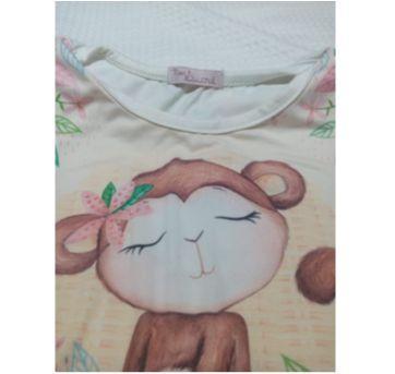 conjunto macaco mon sucré(veste 6/7anos) - 8 anos - Mon Sucré