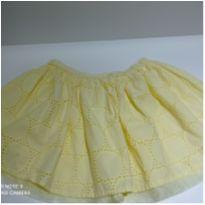 Saia amarela com elástico na cintura, lindíssima...estilo laise