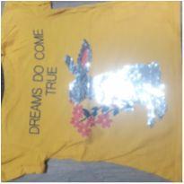 t-shirt coelho paetê - 4 anos - Palomino