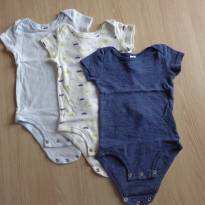 Kit 3 bodys - 3 a 6 meses - Child of Mine e Carter`s