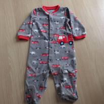 Macacão bombeirinho - 6 a 9 meses - Child of Mine e Carter`s
