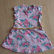 Vestido floral - 1 ano - Vitalite