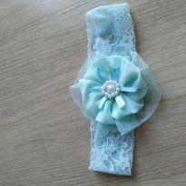 Faixa com flor verde - Sem faixa etaria - Não informada