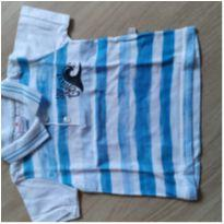 Camisa polo - 6 a 9 meses - Brandili