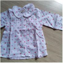 Camisa floral - 9 a 12 meses - Teddy Boom