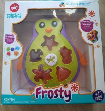 Brinquedo educativo pinguim - Sem faixa etaria - Calesita