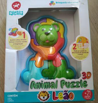 Brinquedo do leão - Sem faixa etaria - Calesita