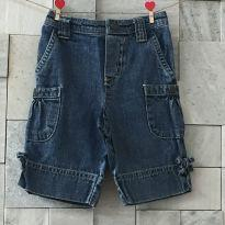 Bermuda jeans - 18 a 24 meses - Carter`s