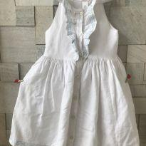 Vestido branco - 4 anos - Janie and Jack
