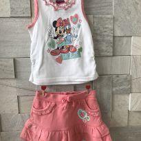 Conjuntinho Minnie - 2 anos - Disney