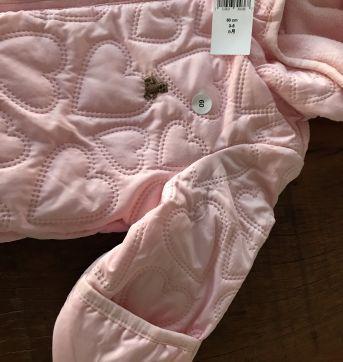 Macacão Bebê rosa - 3 a 6 meses - Baby Gap