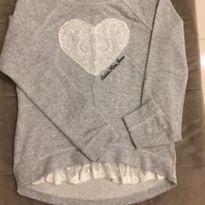 Blusa de coração - 10 anos - Calvin Klein