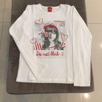 Camisa de manga comprida - 14 anos - Kyly