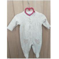 Macacão corações - 3 a 6 meses - Baby fashion