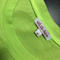 Camiseta Manga Curta com apliques frontais - Le Lis Petit - 10 anos - Le Lis Petit