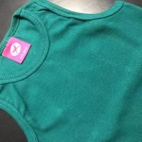 Regata malha canelada verde bandaira - Hering Kids - 4 anos - Hering Kids