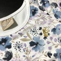 Camiseta Manga Longa estampada floral - Milon - 3 meses - Milon