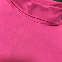 Camiseta Manga Longa (cotton) com gola alta - Brandili - 8 anos - Brandili