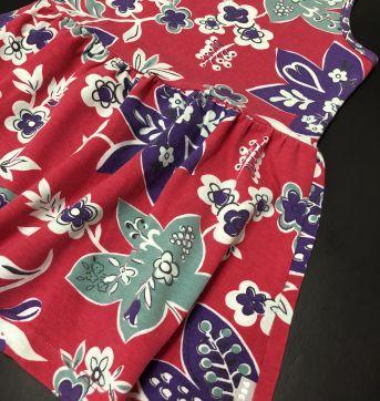 Conjunto - Calça legging cotton lisa + Regata estilo bata estampada - PUC - 8 anos - PUC