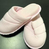 Chinelo - Tecido para dormir - Rosa Claro - 27 - Mensageiro dos Sonhos