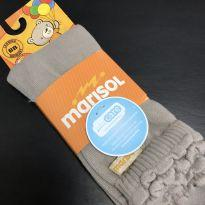Meia - Legging com babado duplo - Marisol - 6 a 9 meses - Marisol