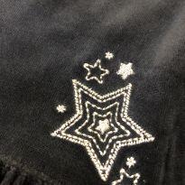 """Vestido plush manga longa com bordado """"Estrelas"""" - OshKosh - 3 anos - OshKosh"""
