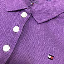 Camiseta Manga Curta gola polo - Tommy Hilfiger - 2 anos - Tommy Hilfiger