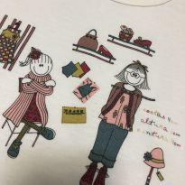 Pijama - Manga longa peluciado - Pat Costureira - Sonhart - 4 anos - Sonhart