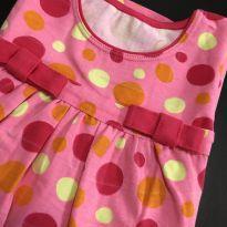 Vestido - Estilo regata cotton com detalhe laço - Kyly - 2 anos - Kyly