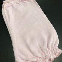 Shorts algodão - Cintura elático e babado na perna - Noruega - 9 a 12 meses - Noruega Baby