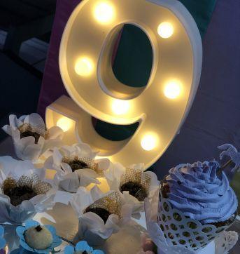 Let´s celebrate - Party - Luminária Numero 6/9 Luminoso - Sem faixa etaria - Importada