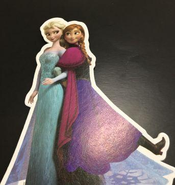 Let´s Celebrate - Party (Frozen) - Mini Painel Mesa/Parede - Sem faixa etaria - Nacional