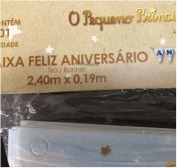 Let´s Celebrate - Party (Pequeno Principe) - Faixa Feliz Aniversário - Sem faixa etaria - Nacional