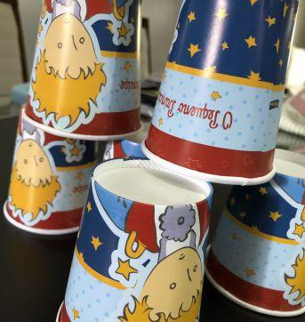 Let´s Celebrate - Party (Pequeno Principe) - Copos decorados - Sem faixa etaria - Nacional