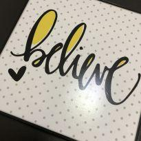Quadro decorativo (20x20) - Believe -  - Nacional