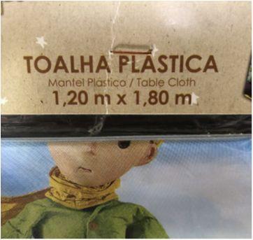 Let´s Celebrate - Party (Pequeno Principe) - Toalha Plastica de Mesa - Sem faixa etaria - Nacional