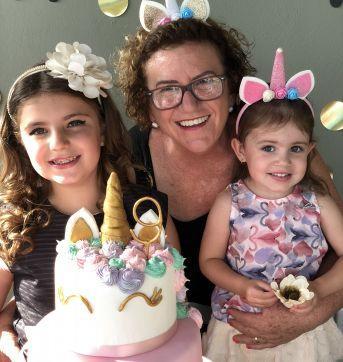 Let´s Celebrate - Party (Unicornio) - Tiara bege com orelhas e flores em EVA - Sem faixa etaria - Nacional