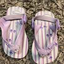 Chinelo Bebe Ursinho - Tiras com elástico - Havaianas - 17 - Havaianas