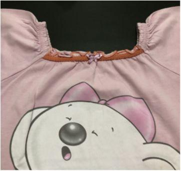 Camisola - Estilo bata com decote quadrado - Lilica Ripilica - 12 a 18 meses - Lilica Ripilica