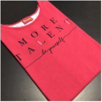 Camiseta M/L - Estampada geométrica MORE TALENT - Amora (Tam 18) - Único - amora