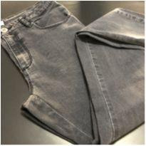 Calça - Jeans preto skinny - Cintura Ajustável - Zara Girls - 14 anos - Zara